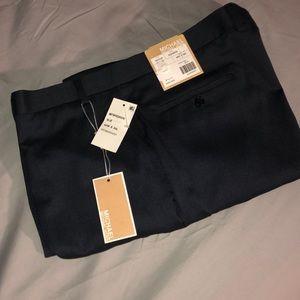 NWT Men's Michael Kors slacks; SIZE 40Wx30L